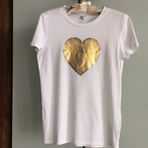 JUICY COUTURE GRAPHIC HEART TEE